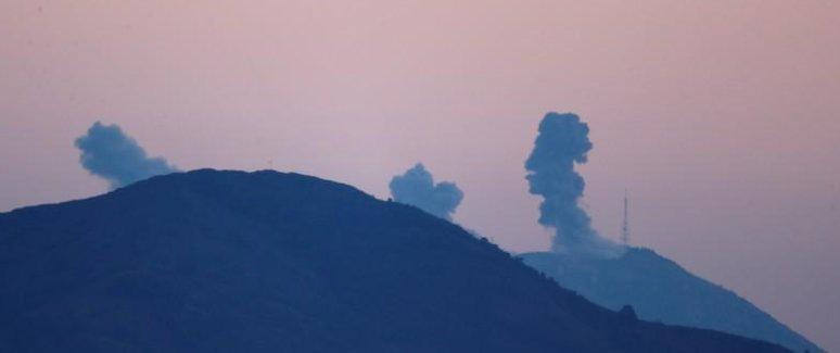 قصف أهداف عسكرية للوحدات الكردية في عفرين