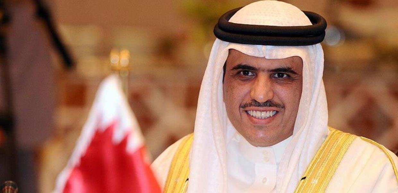 وزير الإعلام البحريني علي بن محمد الرميحي