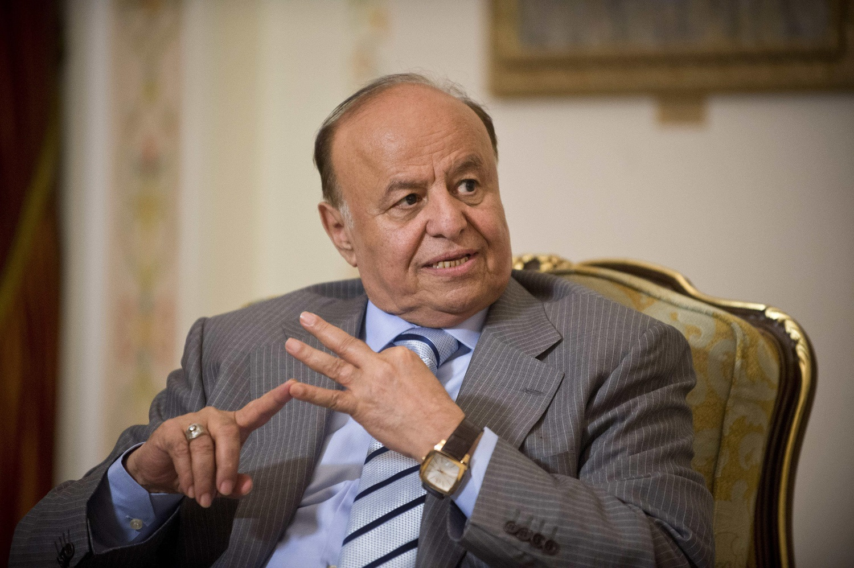الرئيس اليمنى عبد ربه منصور هادى