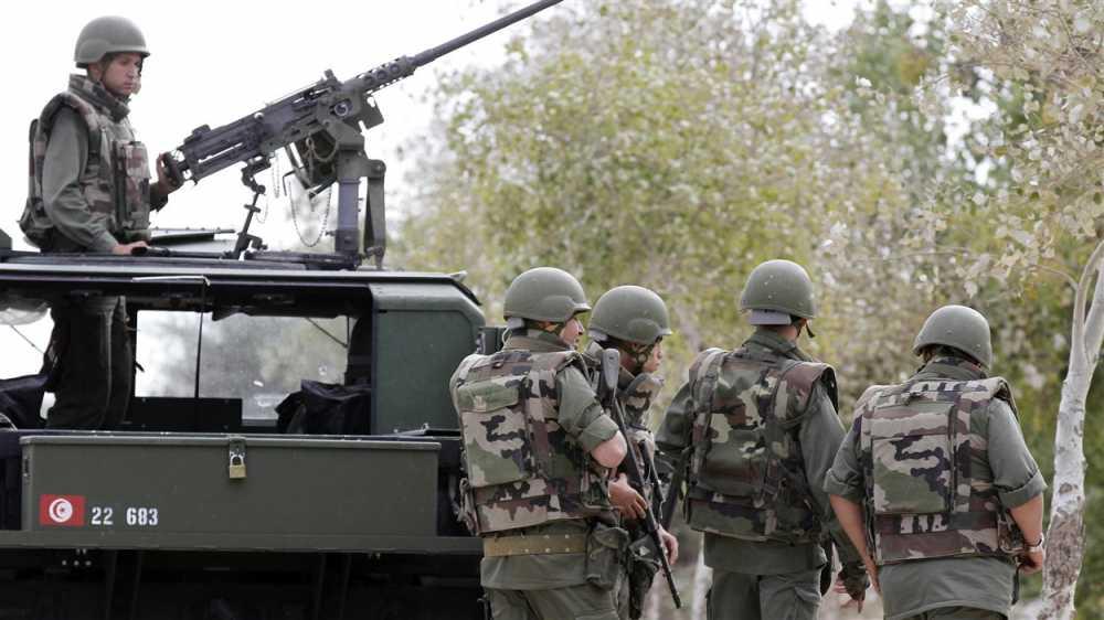 عناصر من القوات المسلحة التونسية