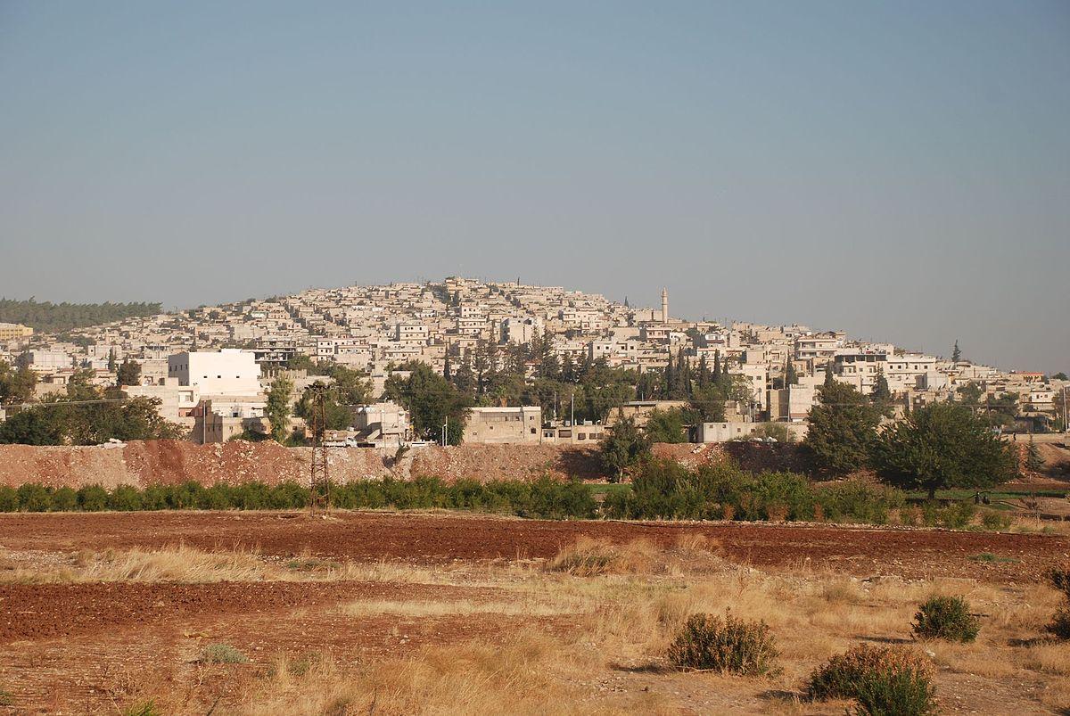 بلدة عفرين السورية