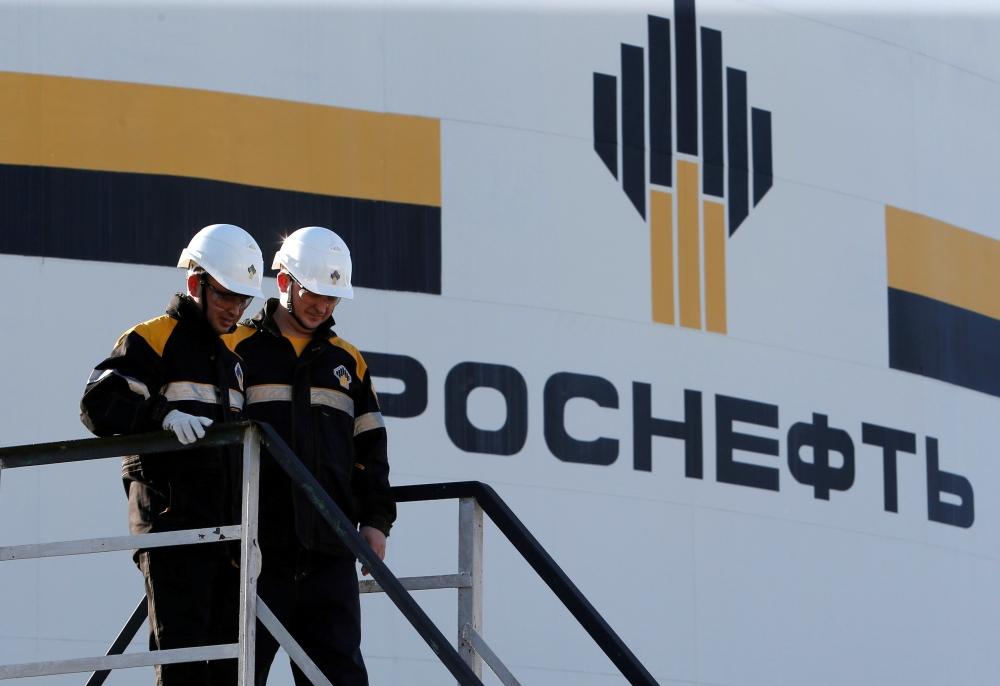 إحدى مصافى البترول لشركة روسنفت الروسية - رويترز