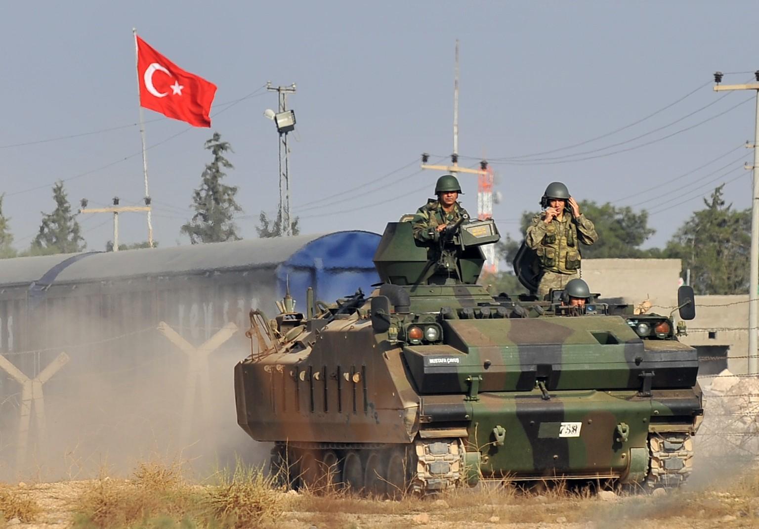 الهجوم التركي على عفرين