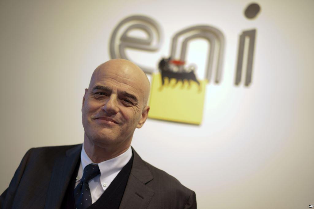 كلاوديو ديسكالزي الرئيس التنفيذي لإيني الإيطالية للطاقة