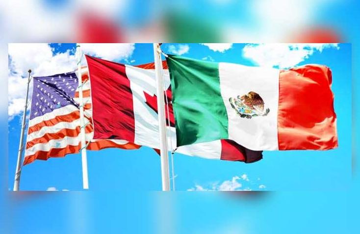 شعار اعلام دولة كندا والولايات المتحدة والمكسيك