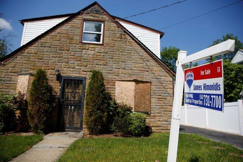 منازل جديدة في أمريكا