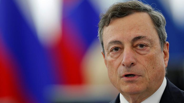 ماريو دراجي رئيس البنك المركزي الأوروبي