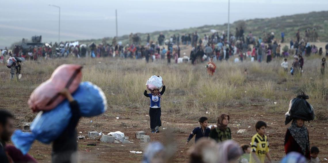 اللاجئون المقيمون في مخيمات إقليم كردستان العراق