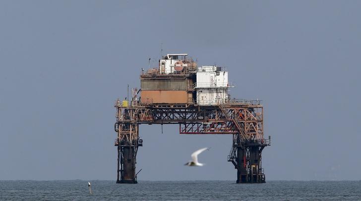 أحد حقول الغاز بشرق المتوسط