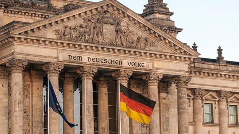 مبنى الحكومة الألمانية