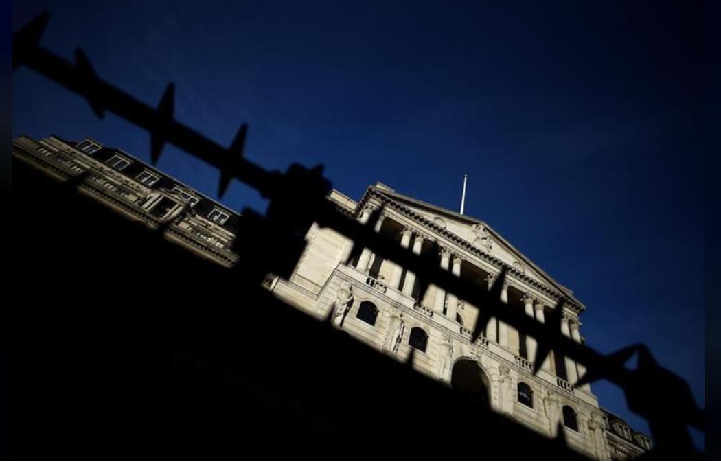 بنك إنجلترا المركزي في لندن