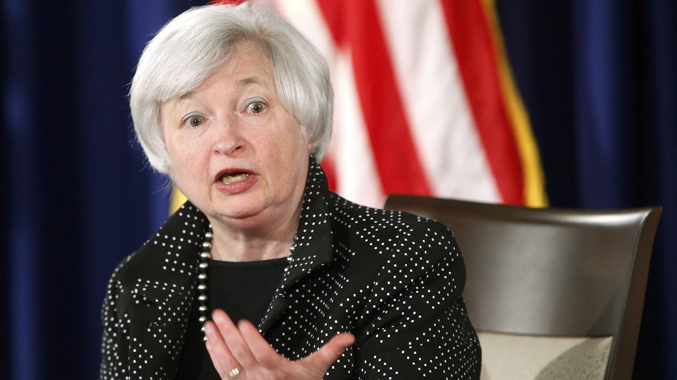 جاينت يلين رئيسة الفيدرالى الامريكى