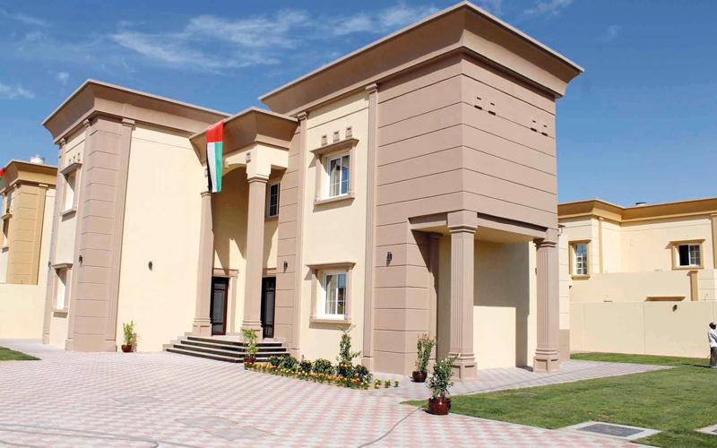 إحدى نماذج الوحدات لبرنامج الشيخ زايد للإسكان