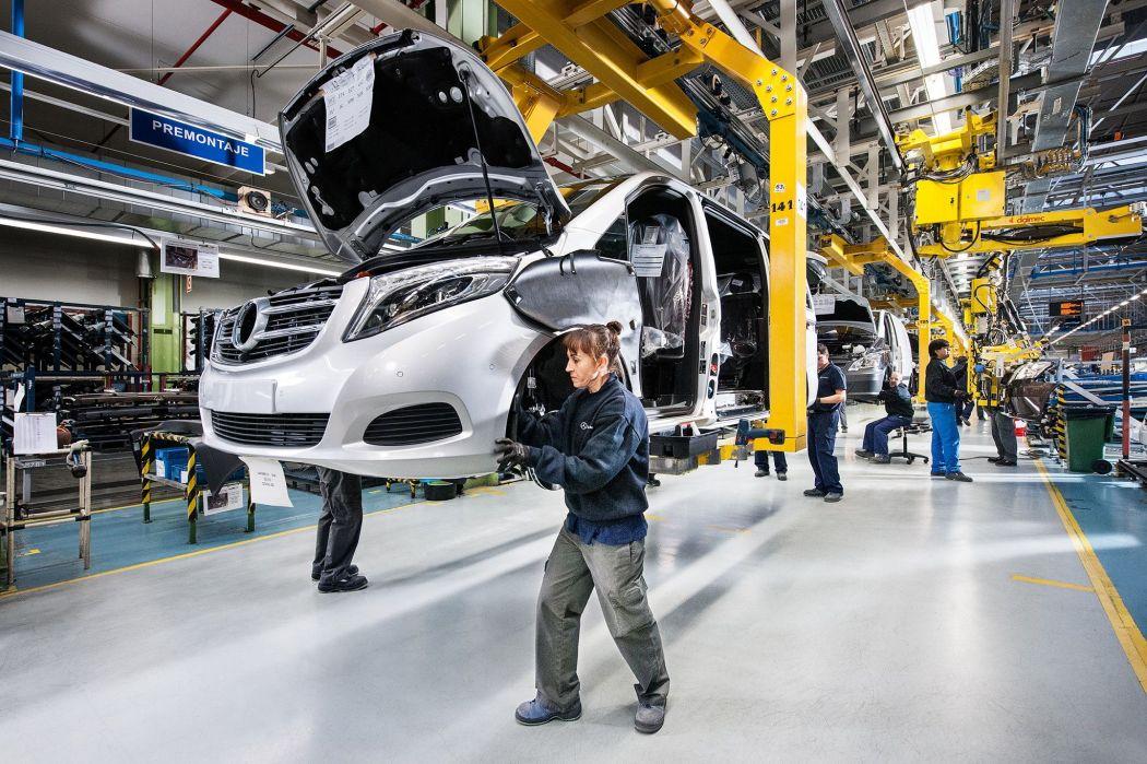 انتاج السيارات في المملكة المتحدة