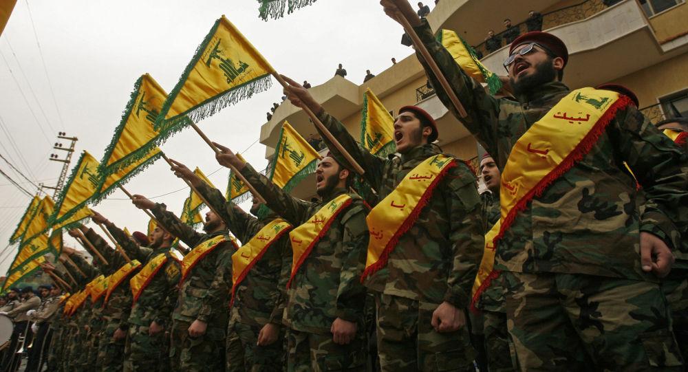 عناصر من جماعة حزب الله اللبنانى