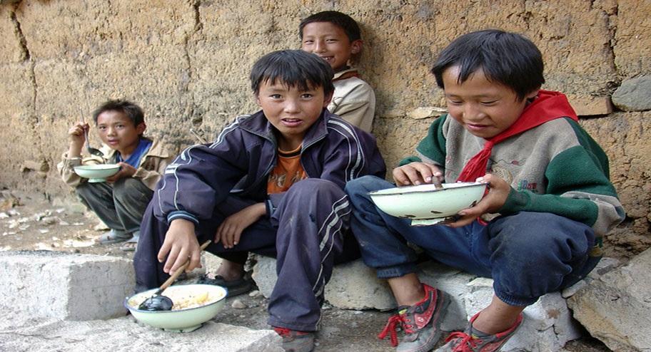 الفقراء فى الصين