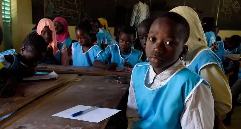 مدرسة في العاصمة السنغالية