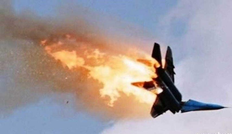 سقوط طائرة فى سوريا - أرشيفية