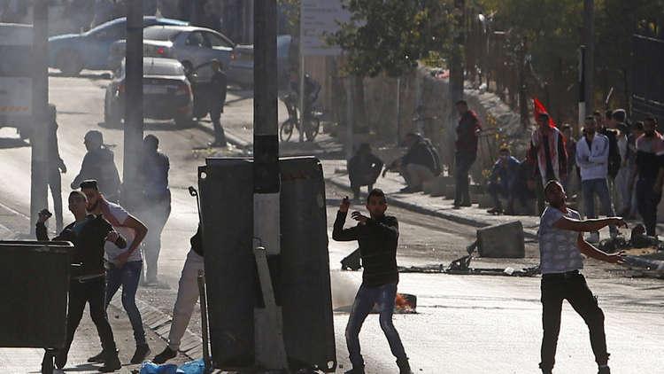 الاشتباكات فى القدس