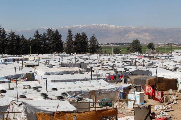 مخيم للفنزويليين في كولومبيا (أرشيفية)