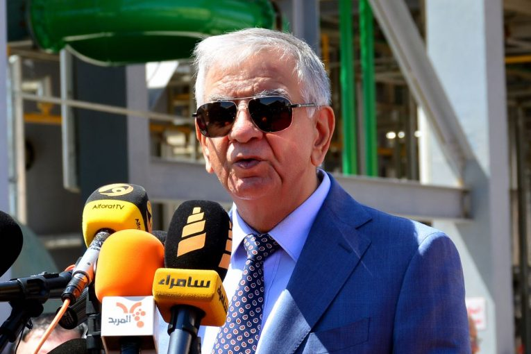وزير النفط العراقى جبار اللعيبي