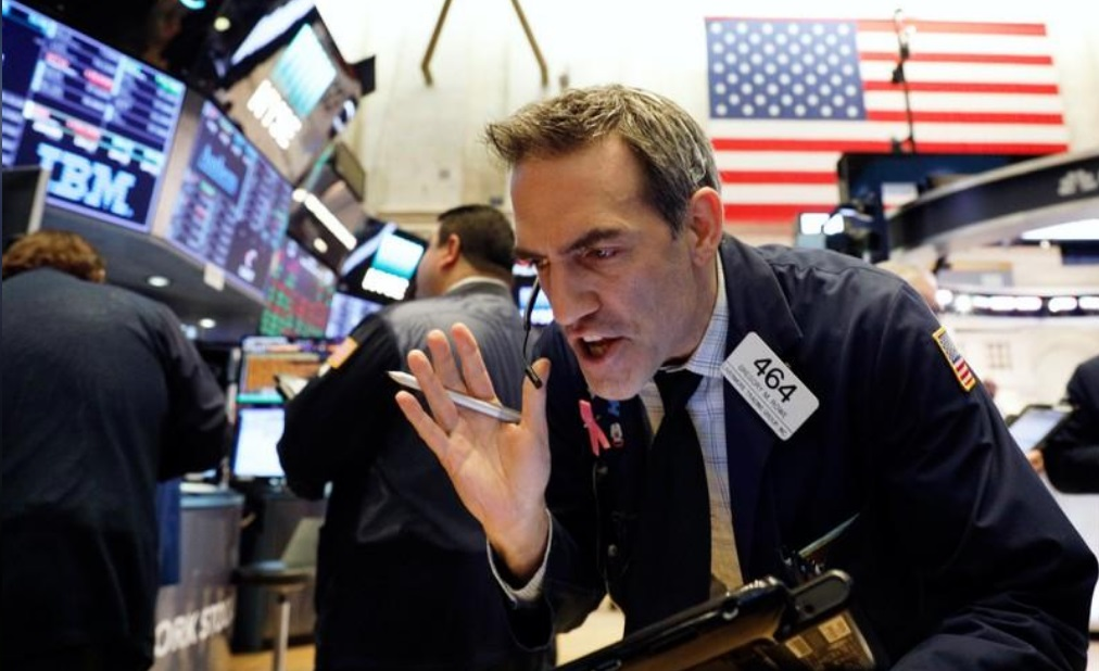 انخفاض الاسهم الأمريكية