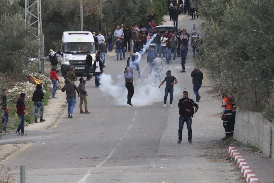 إصابات خلال مواجهات مع جيش الاحتلال الإسرائيلي