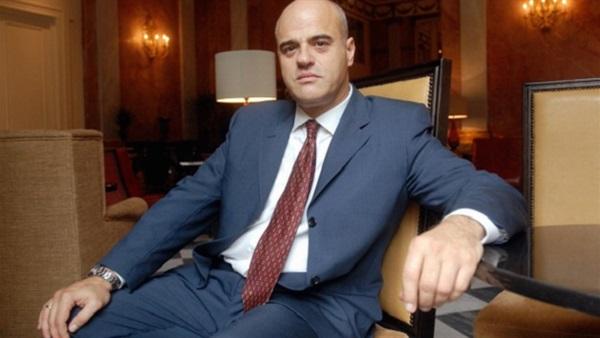 كلاوديو ديسكالزى الرئيس التنفيذى لشركة إينى الإيطالية