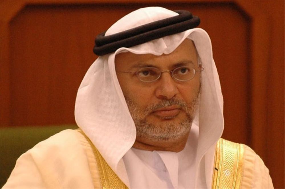 الدكتور أنور بن محمد قرقاش وزير الدولة للشؤون الخارجية