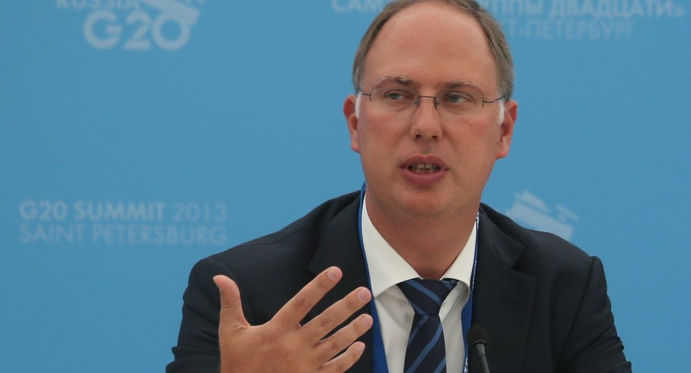 كيريل ديميترييف رئيس صندوق الاستثمار المباشر الروسي