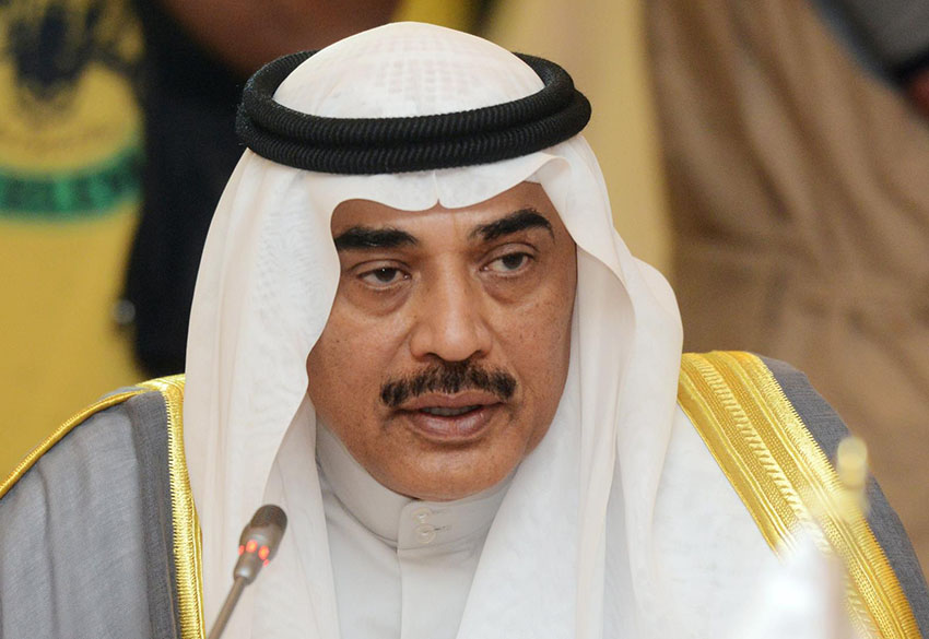 وزير الخارجية الكويتي الشيخ صباح الخالد الحمد الصباح