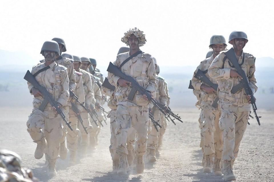 جنود من القوات المسلحة الإماراتية