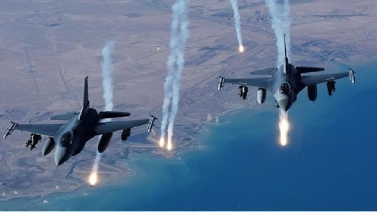 غارة جوية لطائرات التحالف العربي