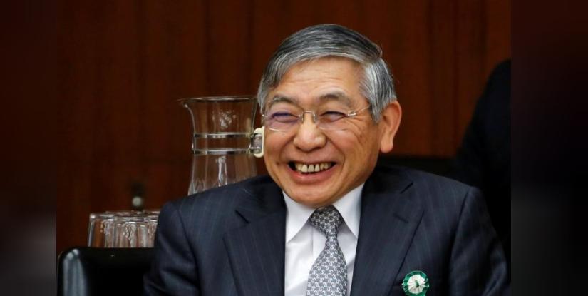 محافظ البنك المركزي هاروهيكو كورودا