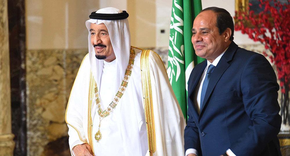 الملك سلمان والرئيس المصري
