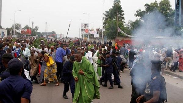 المتظاهرين الكونغوليين - ارشيفية