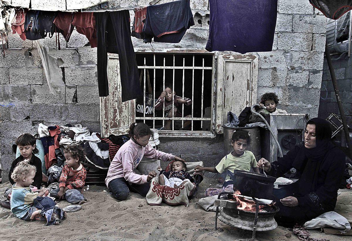 سكان غزة