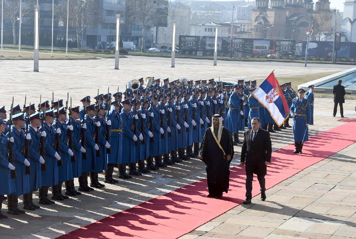سفيرالدولةيسلمأوراقاعتمادهلرئيسصربيا