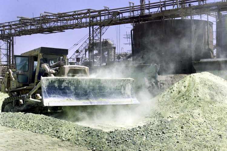 انتاج الفوسفات في تونس