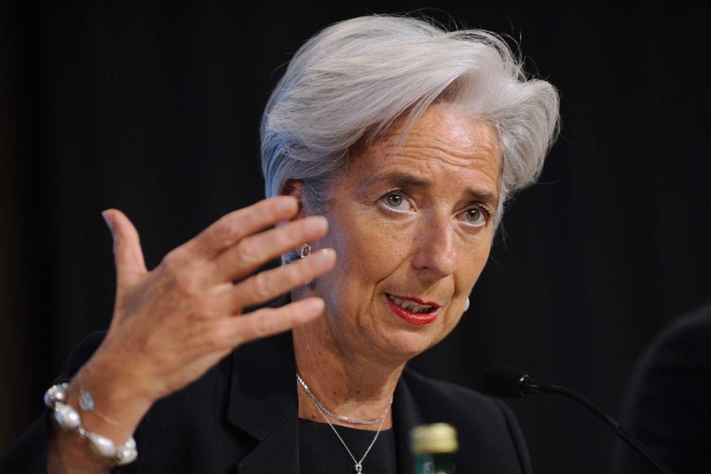 رئيسة صندوق النقد الدولي كريستين لاجارد