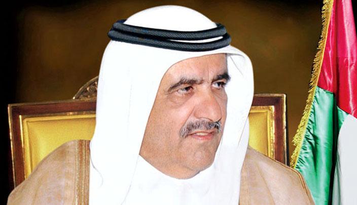الشيخ حمدان بن راشد آل مكتوم نائب حاكم دبي وزير المالية