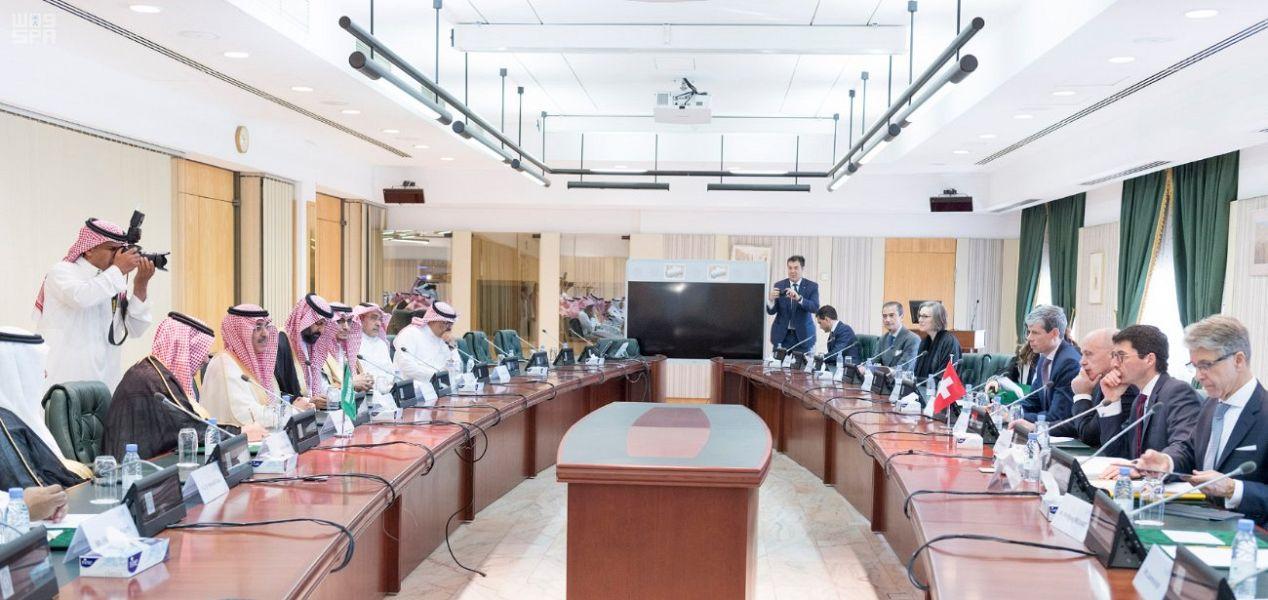 المملكة توقع اتفاقية تجنب الازدواج الضريبي مع مجلس الاتحاد السويسري