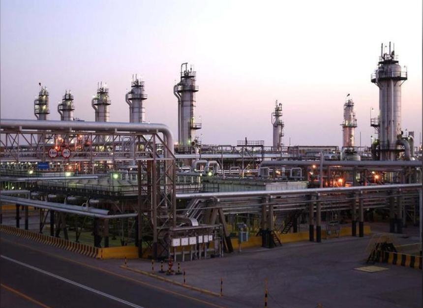 منشأة نفطية شرق السعودية تابعة لشركة أرامكو السعودية