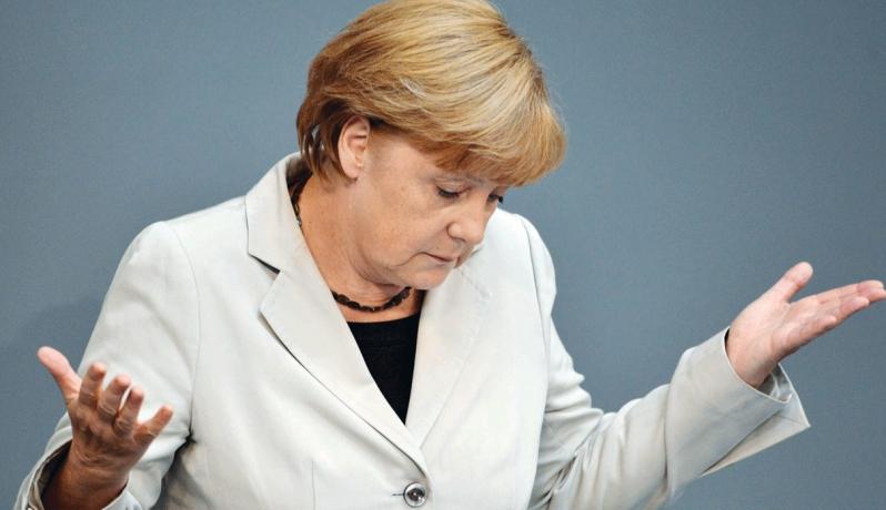 المستشارة الالمانية انجيلا ميركل