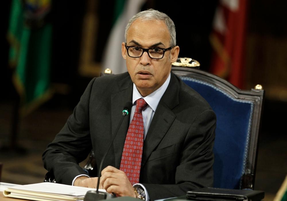 رشيد محمد المعراج محافظ مصرف البحرين المركزي