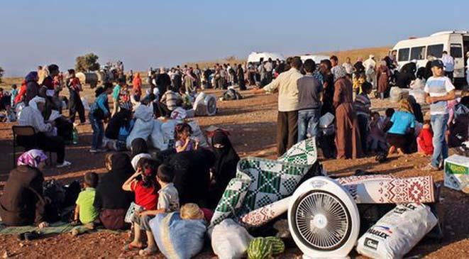 مليون لاجئ سوري