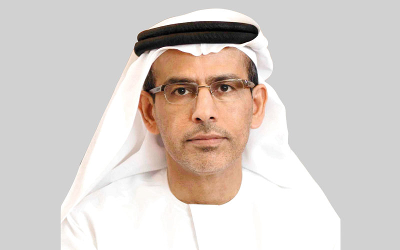 عبدالرحمن صالح آل صالح المدير العام للدائرة المالية بدبى