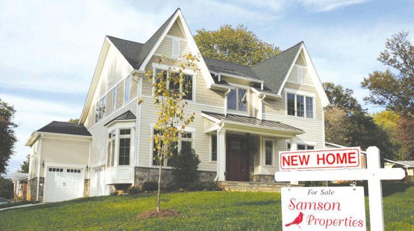 مبيعات المنازل القائمة في أمريكا