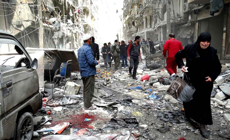 تصاعد العنف في الغوطة الشرقية بسوريا
