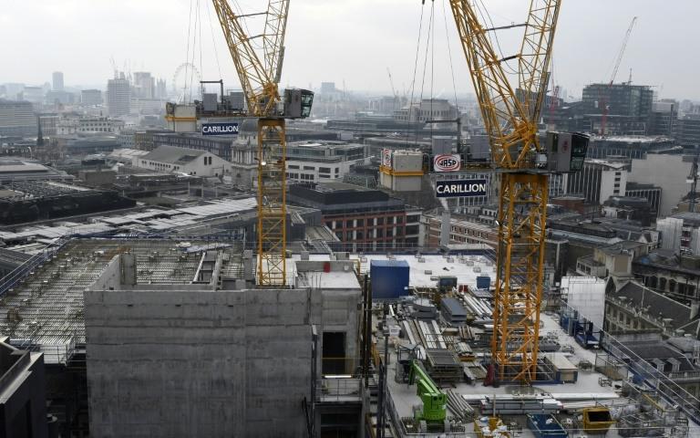 ورش بناء في وسط لندن